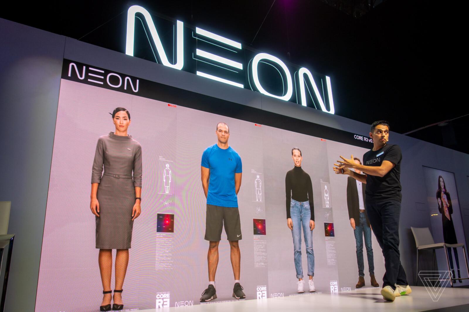 Samsung Technology представила цифровую копию человека