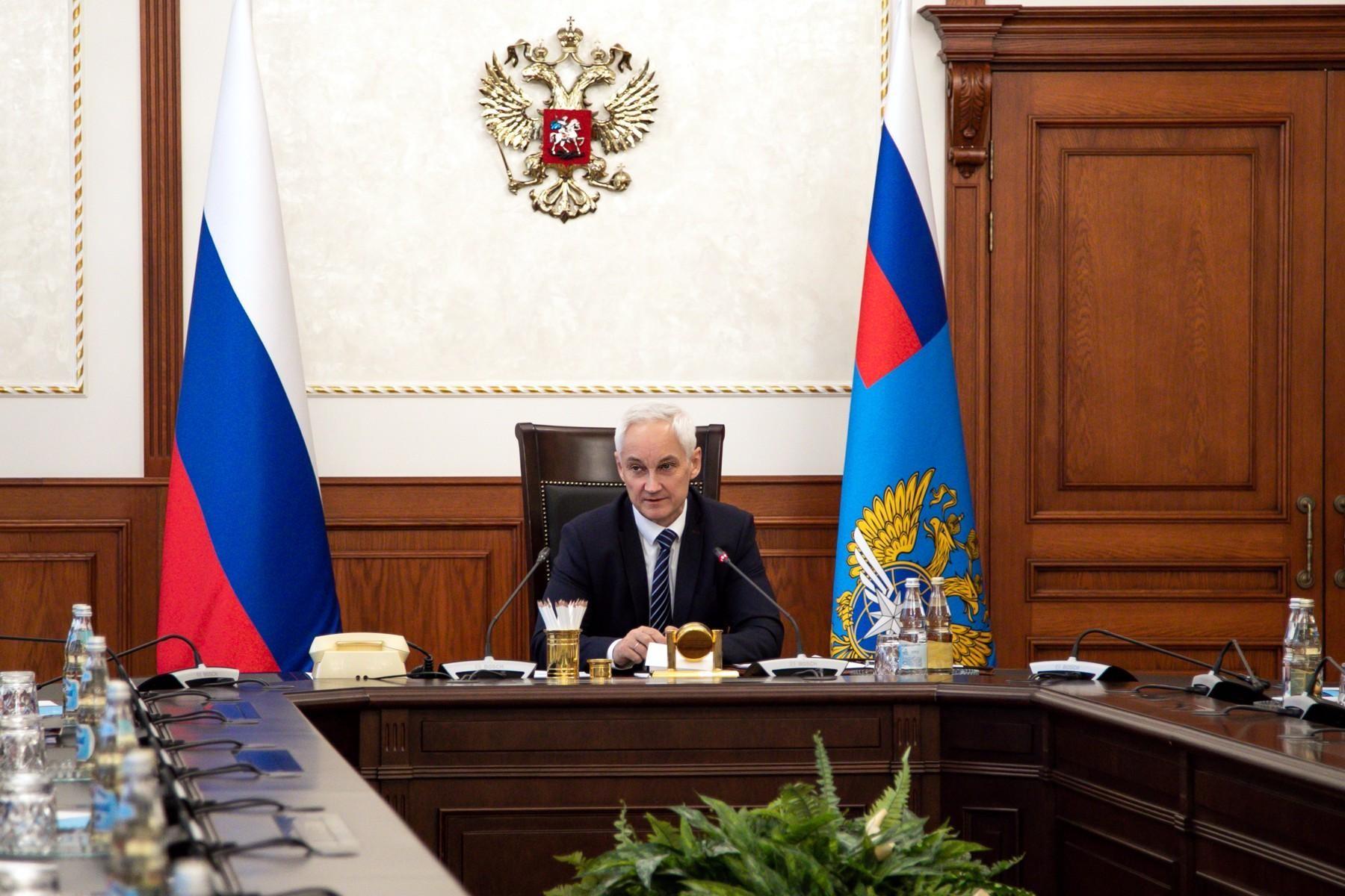 """Андрей Белоусов: """"Особого внимания требуют вопросы цифровизации и безопасности транспортной отрасли"""""""